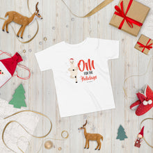 Load image into Gallery viewer, OM For The Holidays Toddler Short Sleeve Tee