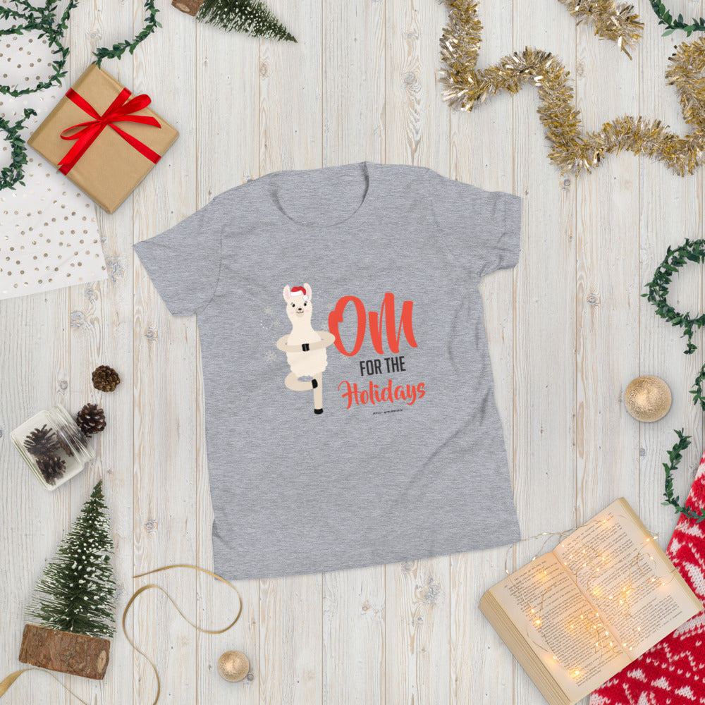 OM For The Holidays Youth Short Sleeve T-Shirt