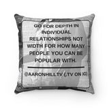Mom and I Pillow (Relationships)