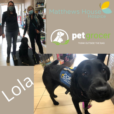 Pet Grocer Supports Matthews House