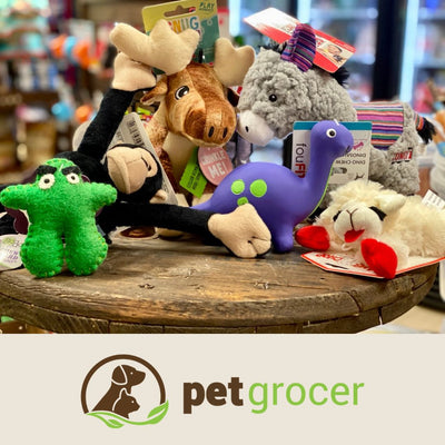 Toys! Toys! Toys! Fun for your pet and great for their well being