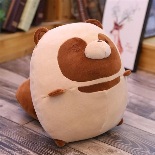 Plumpy Chonky Rigby the Mischievous Raccoon and Autumn the Mellow Fox Plushies - Plumpy Plushies