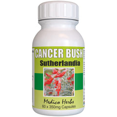 Cancer Bush Sutherlandia Frutescens 60 x 350 mg Capsules