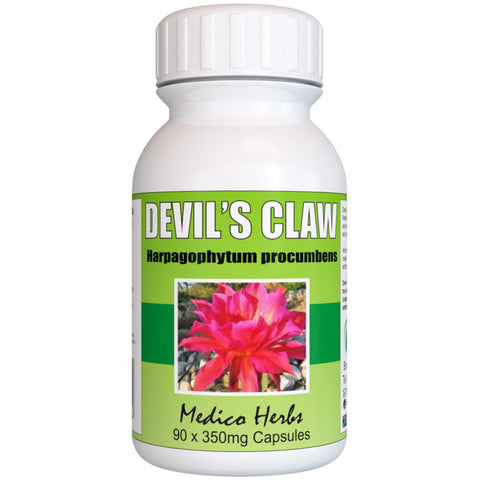 Devil's Claw (Harpagophytum procumbens) 90 x 350 mg. Capsules