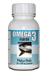 Omega 3 Soft Gel Capsules 60 x 1000mg.