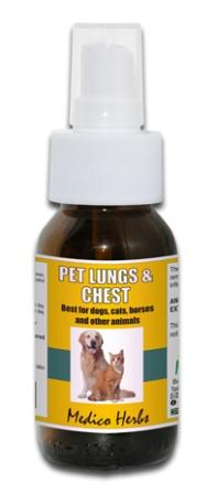 Pet Lungs & Chest Spray 50ml.