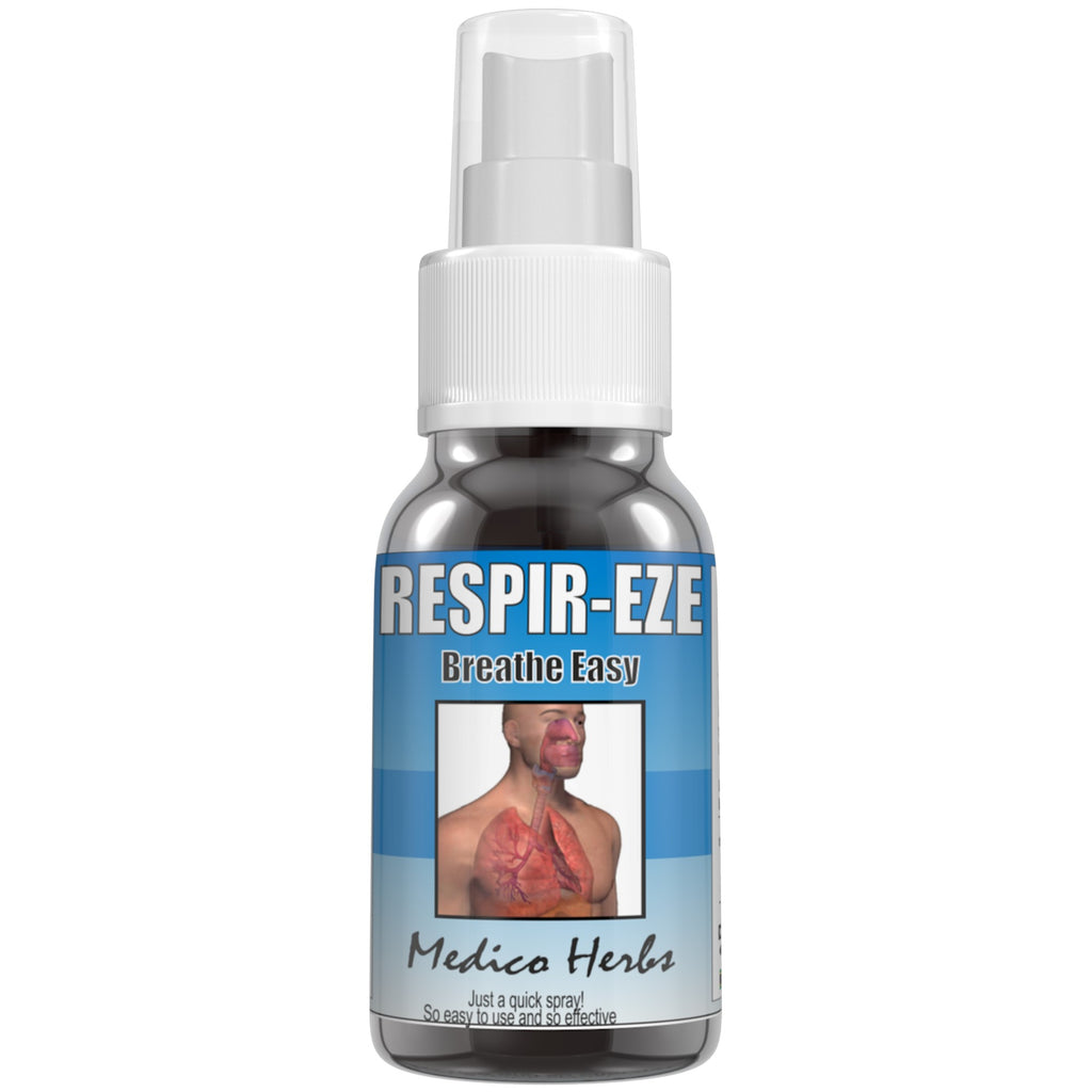 Respir-Eze Breathe easy relief from asthma Spray 50ml.