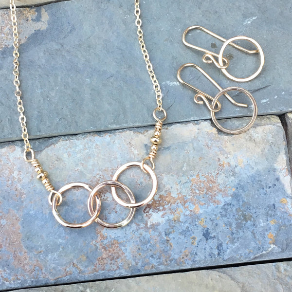 Three Ring Circus ~ Goldfilled