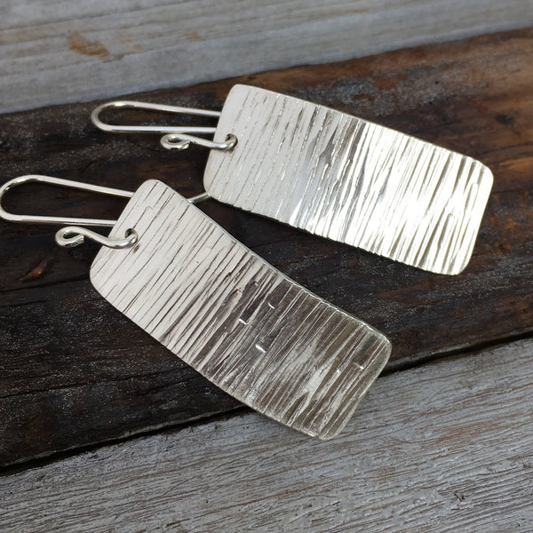 Tree Bark Earrings
