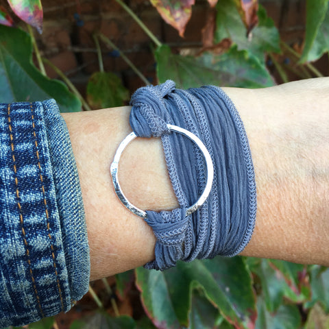 Circle Wrap Bracelet ~ Shiny