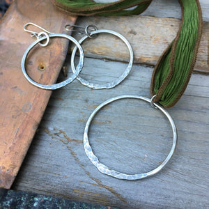 Ring of Fire Necklace ~ Oxidized