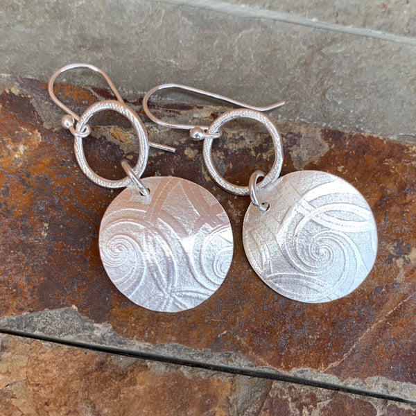 Dancing Swirls Earrings