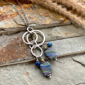 Blue Rodeo Necklace