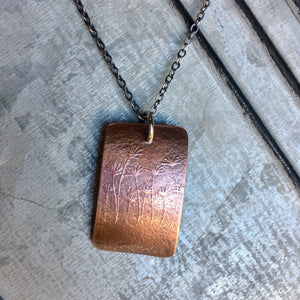 Make A Wish Necklace ~ Copper