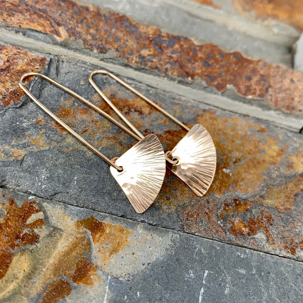 Tiny Wings Earrings ~ 14kt Goldfilled