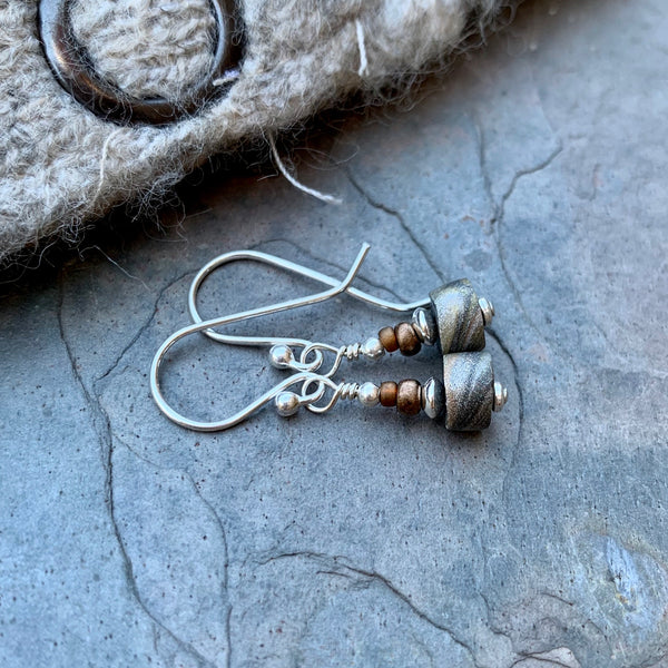 Tiny Desert Sand Earrings