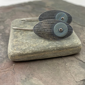 Gray Skies Earrings