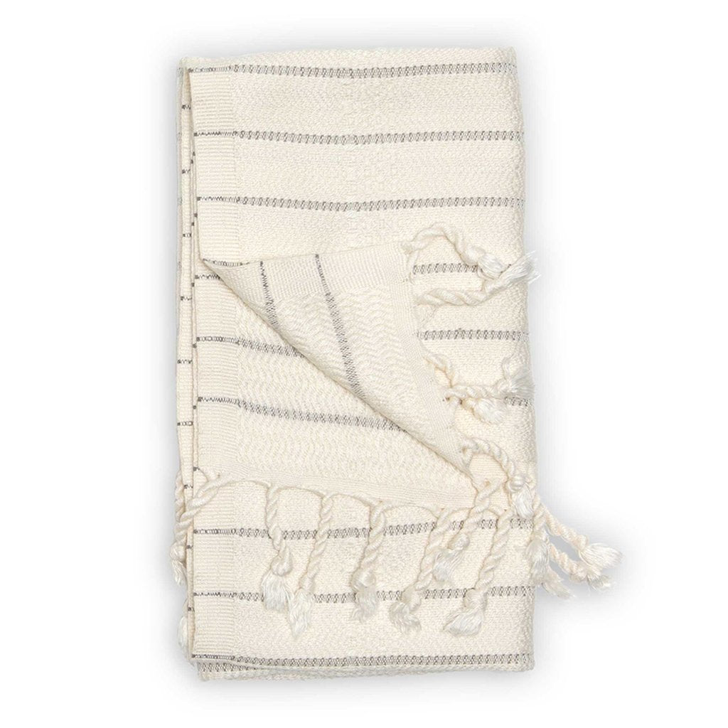 Pokoloko – Bamboo Striped Hand Towel Mist