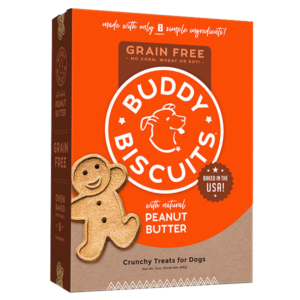 Buddy Biscuits Grain Free Peanut Butter Crunchy Treats
