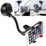 iVoler  Long Arm Clamp Car Phone Mount Windshield