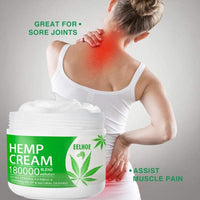 10/20/30ml  Pure natural hemp cream for muscle and joint pain relief