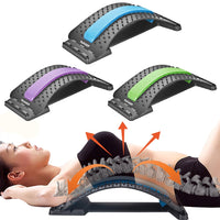 Back and lumbar stretching tool