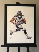 "Load image into Gallery viewer, HAND DRAWN Original Watercolor 18"" X 24"" art ""What's A Combine?"" Phillip Lindsay! Available in 9x11, 11x14, 20x30 and 24X36 Prints as well!!"