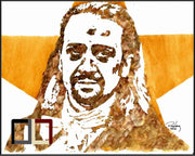 "HAND DRAWN Original Watercolor ""A. Ham"" featuring Hamilton star Lin Manuel-Miranda! Available in 9x11, 11x14, 20x30 and 24X36 Prints as well!!"
