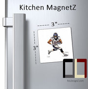 "Kitchen MagnetZ 3"" X 3"" Your Choice of ARTWORK!! Wonderful gift!!"