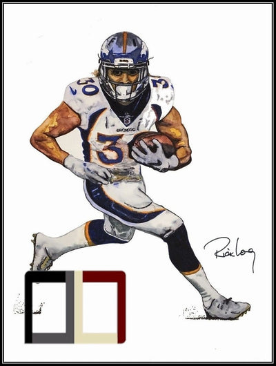 "HAND DRAWN Original Watercolor 18"" X 24"" art ""What's A Combine?"" Phillip Lindsay! Available in 9x11, 11x14, 20x30 and 24X36 Prints as well!!"