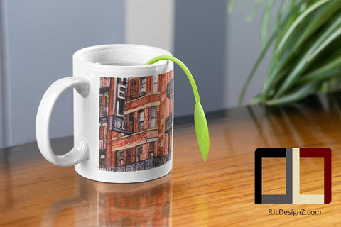 Mug 11oz with YOUR CHOICE of any RJLDesignZ artwork!  Perfect Gift!!