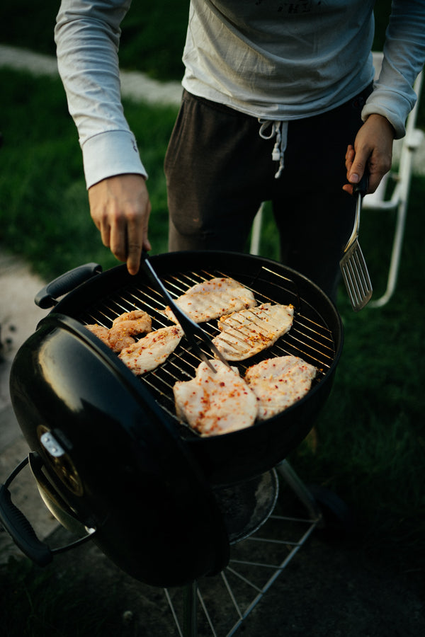 Luxe RVS Grillset 3 delig Barebecue cutlery - BBQ accesoires - RVS Spatel - Barbecue Gereedschapset Roestvrijstaal - Tangenset