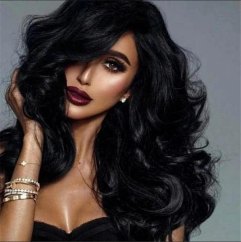 wavy lace front wig for black women