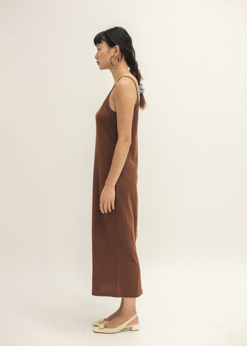 Vintage Rust Long Tank Dress