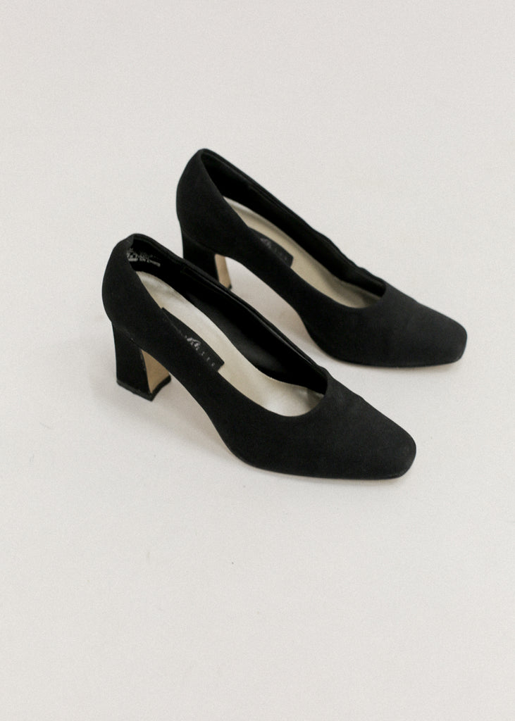 Vintage Black Pumps
