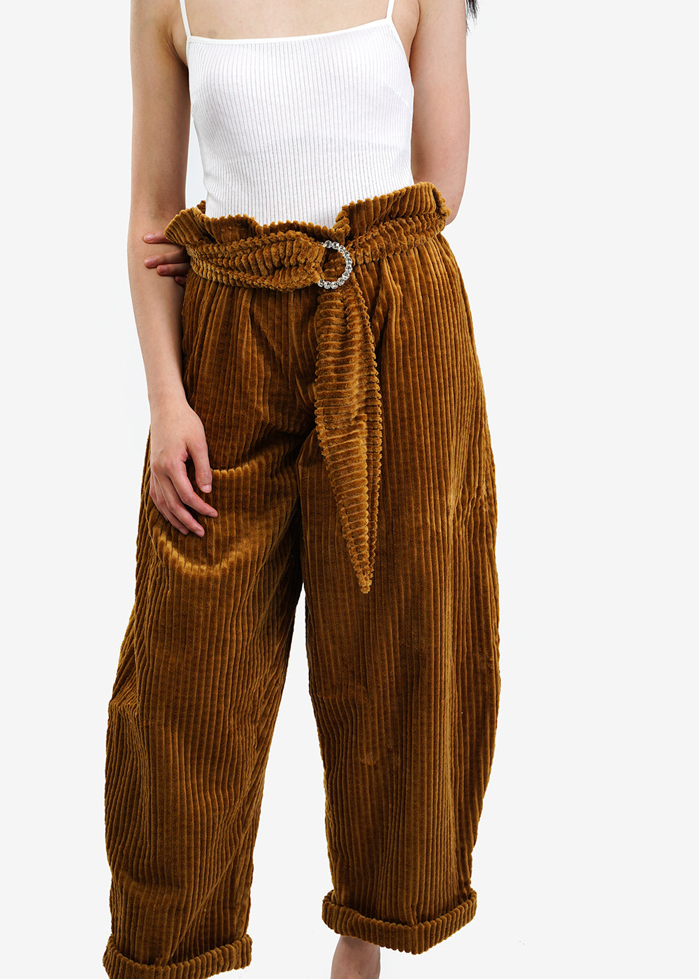 323 Broccoli Trousers — Shop sustainable fashion and slow fashion at New Classics Studios