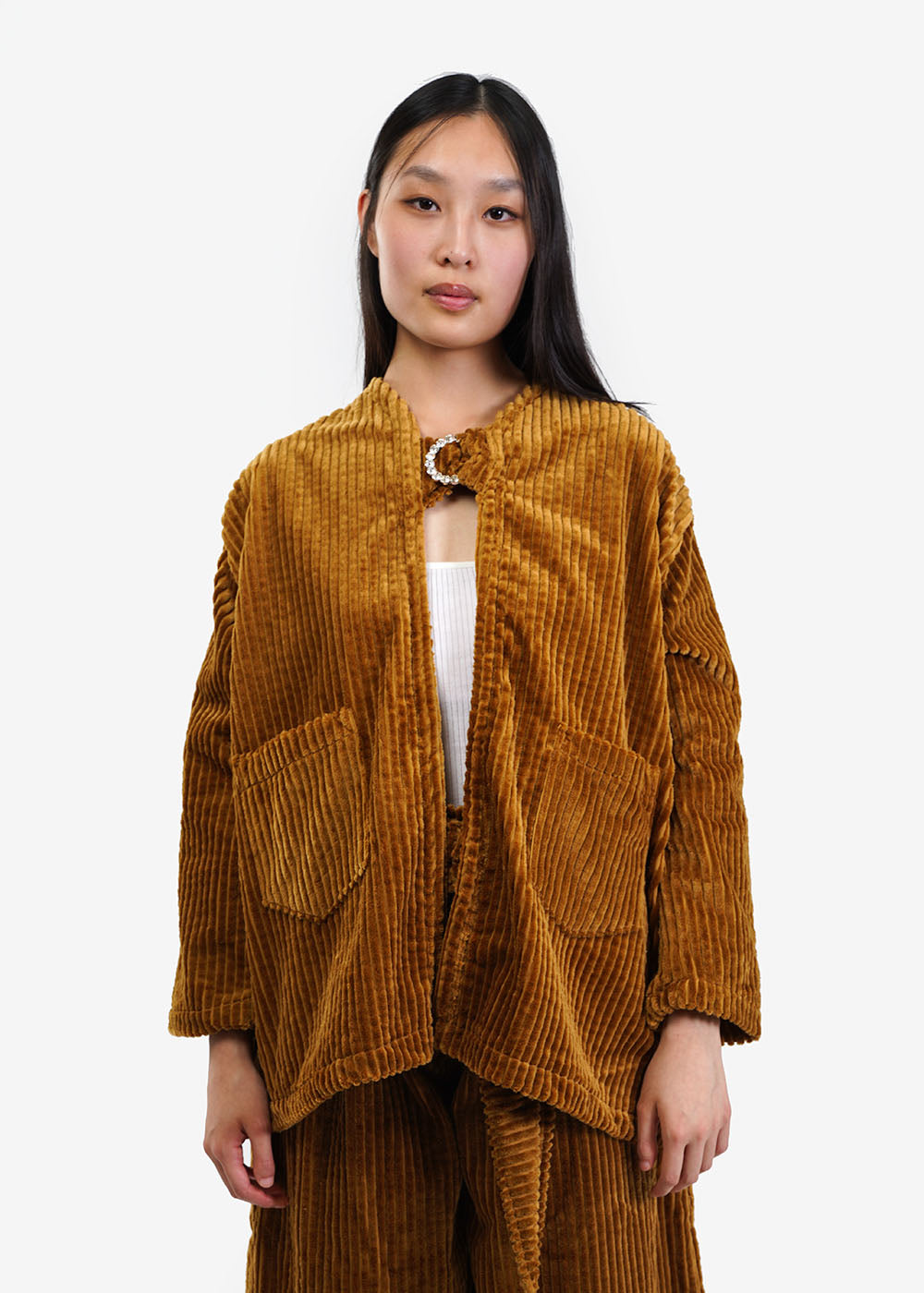 323 Broccoli Jacket — Shop sustainable fashion and slow fashion at New Classics Studios