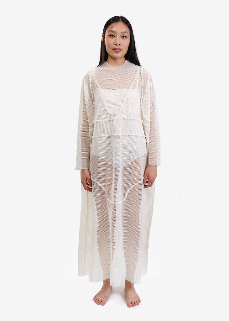 Ivory Net Underwear Dress