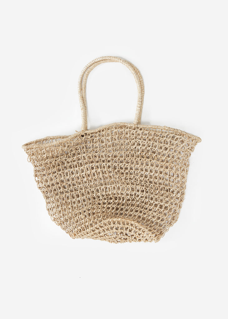 Abacá Marina Basket Tote — Shop sustainable fashion and slow fashion at New Classics Studios