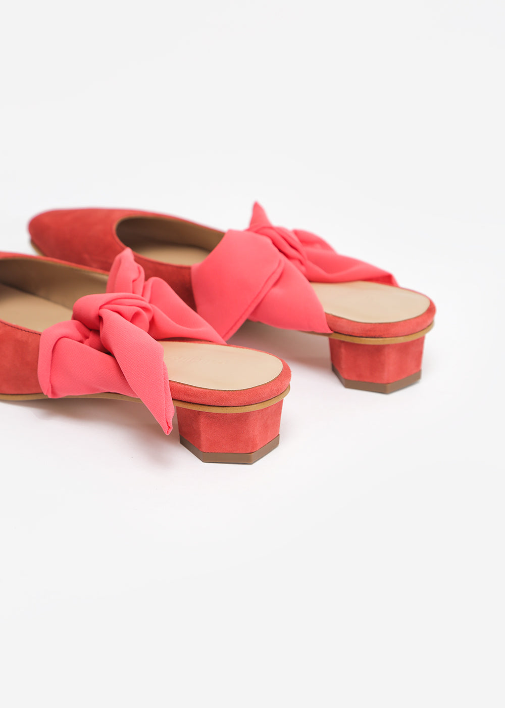 About Arianne Tina Mules in Sunset — Shop sustainable fashion and slow fashion at New Classics Studios