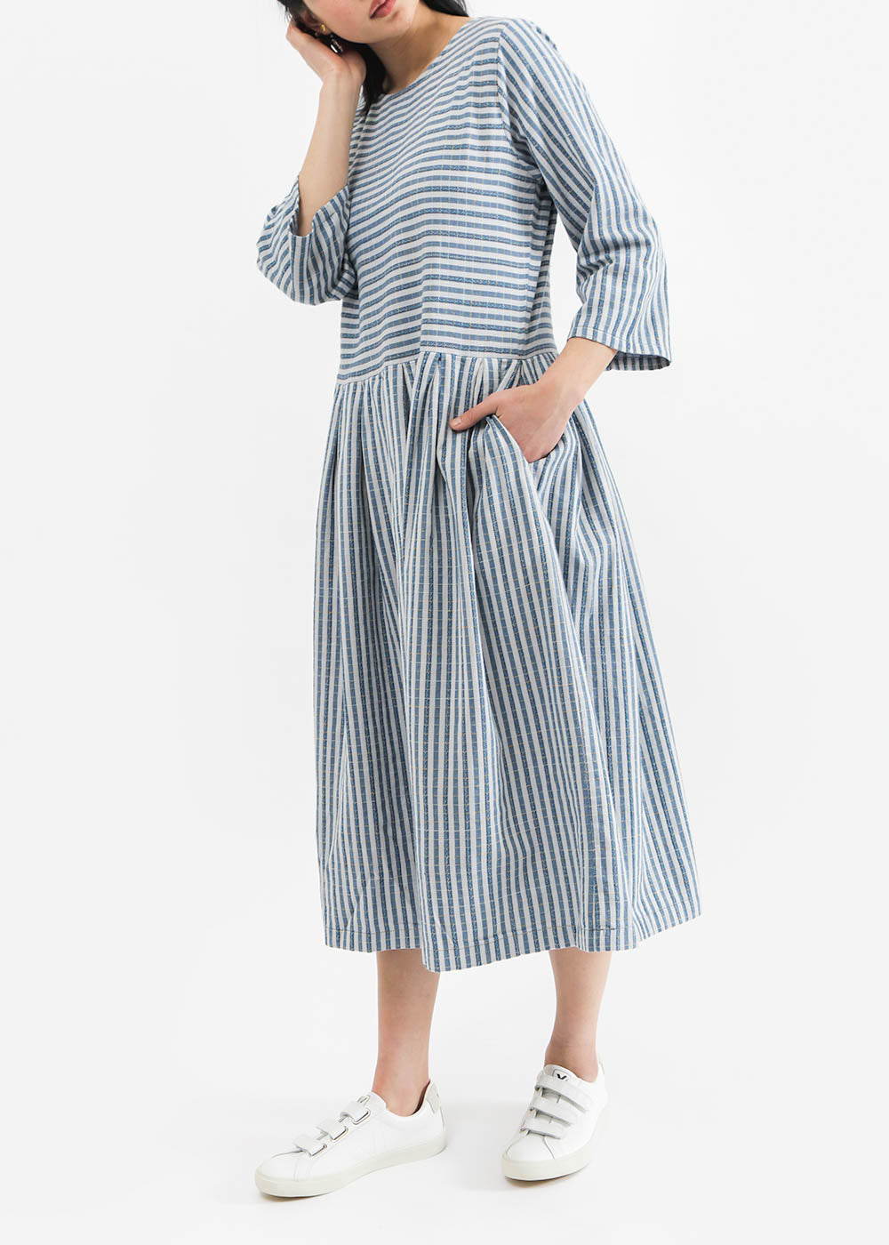 Ace & Jig Starboard Sage Dress — New Classics Studios