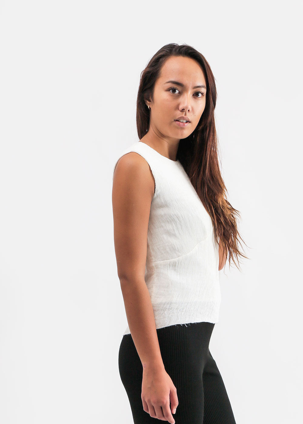 Ajaie Alaie Cloud Siempre Lunes Top — Shop sustainable fashion and slow fashion at New Classics Studios