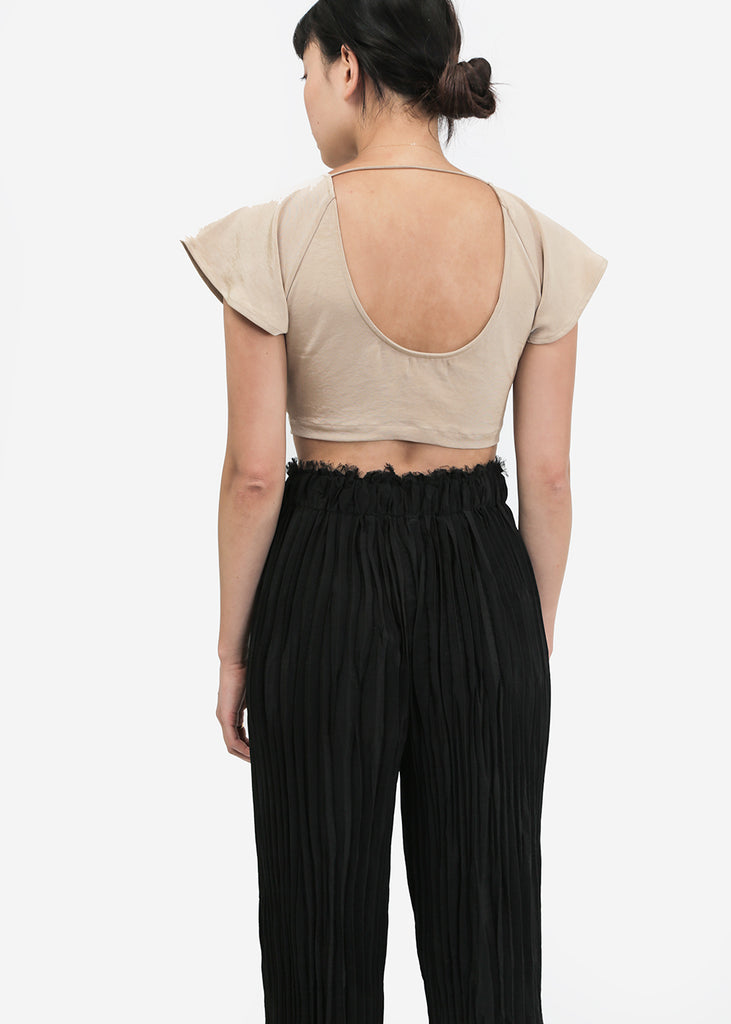 Ajaie Alaie Crop De La Crop Top — Shop sustainable fashion and slow fashion at New Classics Studios