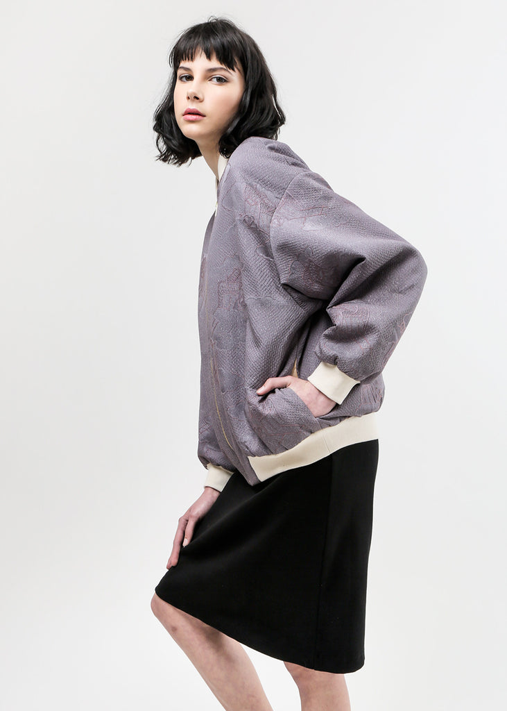 Arcana NYC Chiara Bomber Jacket — Shop sustainable fashion and slow fashion at New Classics Studios