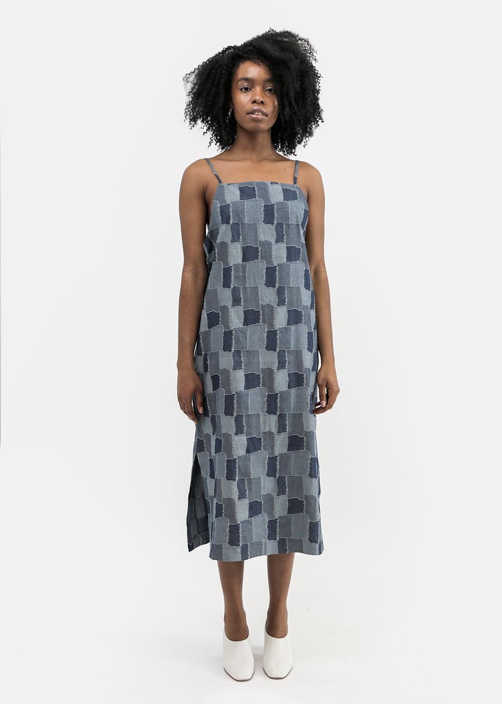 Castaway Dress in Patchwork Chambray by VALE DENIM – New Classics ... a8503d2ab