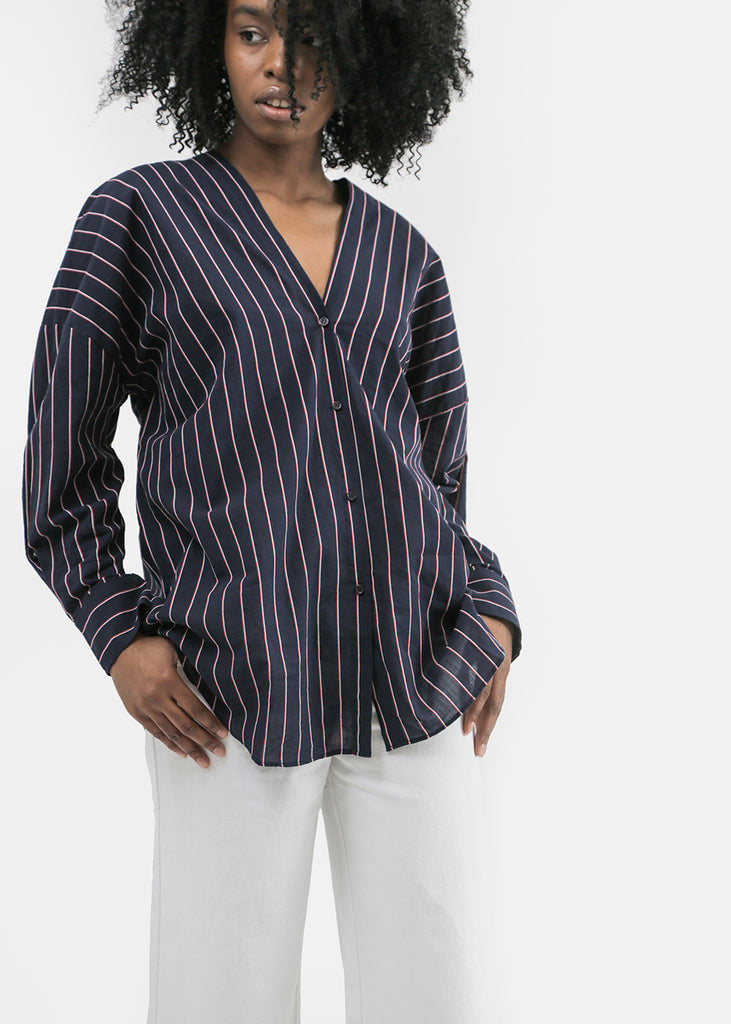 Vale Denim Captain Shirt — Shop sustainable fashion and slow fashion at New Classics Studios