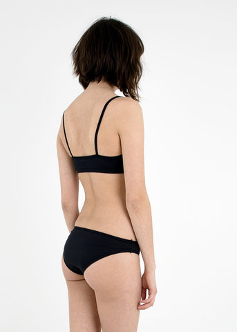 Black Spaghetti Swimtop