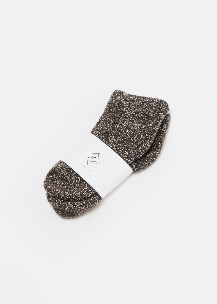 Brown Buckle Ankle Socks - New Classics Studios