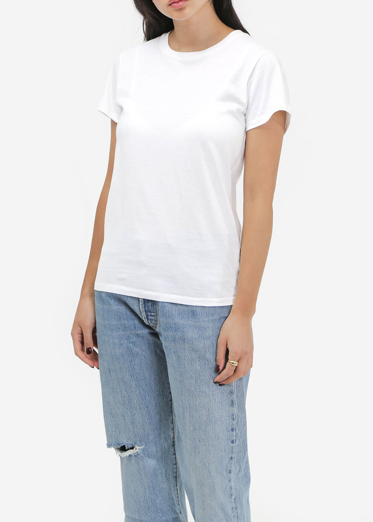 Baserange Off-White Cotton Tee Shirt — New Classics Studios