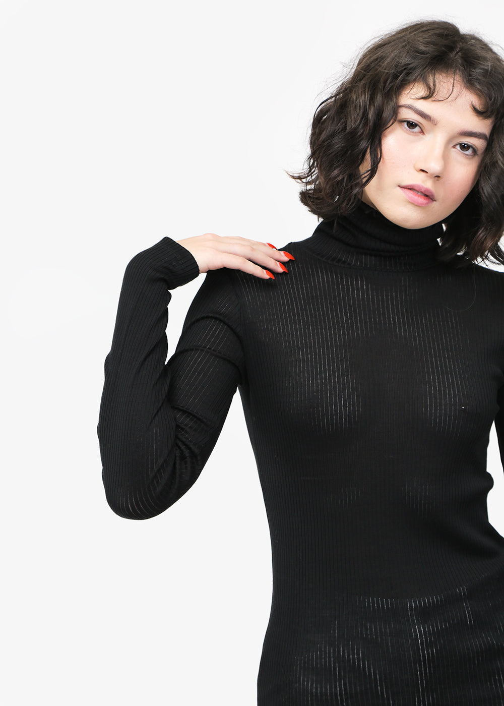 Baserange Puig Turtleneck — Shop sustainable fashion and slow fashion at New Classics Studios